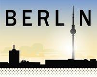 Cielo di Berlino Fotografia Stock Libera da Diritti
