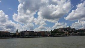 Cielo di Budapest Immagine Stock