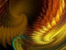 Cielo di ciclone Fotografie Stock