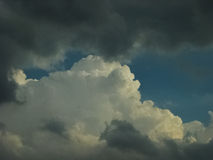Cielo di Colorado Fotografia Stock