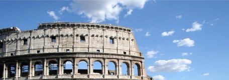 Cielo di Colosseum Fotografia Stock
