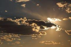 Cielo di crepuscolo Immagini Stock Libere da Diritti