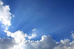 Cielo di estate immagini stock libere da diritti