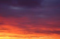 Cielo di Luminant Fotografie Stock