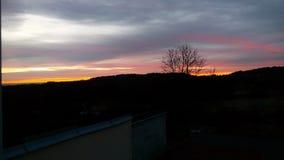 Cielo di mattina Fotografia Stock Libera da Diritti