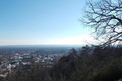 Cielo di Mountain View Immagine Stock Libera da Diritti