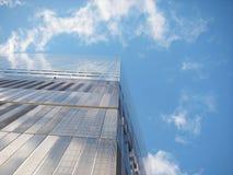 Cielo di New York fotografia stock