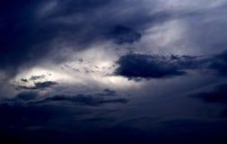 Cielo di Prethunderstorm Fotografie Stock Libere da Diritti