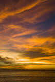 Cielo di tramonto Immagini Stock Libere da Diritti