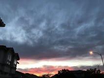 Cielo di tramonto Immagine Stock Libera da Diritti