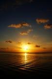 Cielo di tramonto, Tailandia Fotografia Stock Libera da Diritti