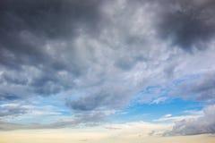 Cielo dopo la grande pioggia Immagine Stock Libera da Diritti