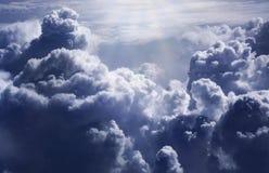 Cielo dramático Imagen de archivo