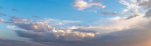 Cielo dramático foto de archivo libre de regalías