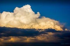 Cielo dramático Foto de archivo