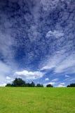 Cielo dramático del verano Foto de archivo libre de regalías