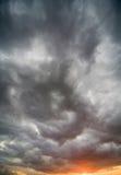 Cielo drammatico Fotografia Stock Libera da Diritti