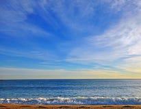 Cielo e cielo Fotografia Stock