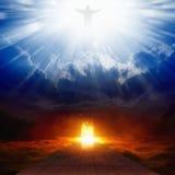 Cielo e inferno immagini stock libere da diritti