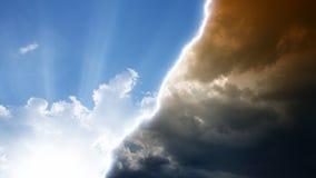 Cielo e infierno Fotografía de archivo libre de regalías