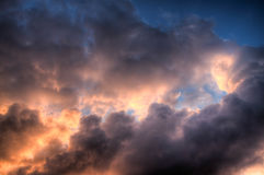 Cielo e Infierno (Heaven and Hell) Royalty Free Stock Photography