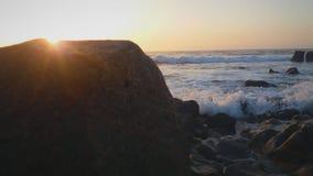 Cielo e mare al tramonto fotografia stock
