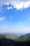 Cielo e montagna Fotografia Stock