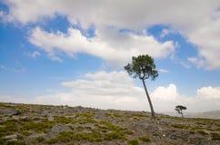 Cielo e montagna immagine stock libera da diritti