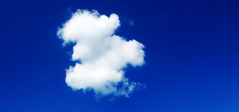 Cielo e nube Fotografie Stock Libere da Diritti