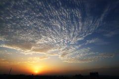Cielo e nube Fotografia Stock