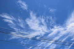 Cielo e nube Fotografie Stock