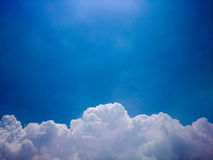 Cielo e nube Immagini Stock