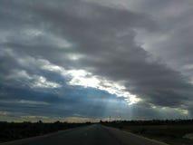 Cielo e nubi Immagini Stock Libere da Diritti