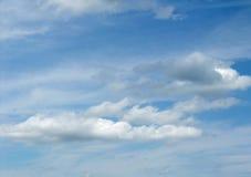 Cielo e nubi Fotografie Stock
