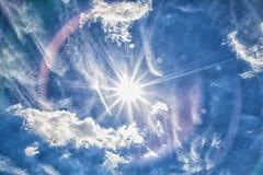 Cielo e nubi Fotografie Stock Libere da Diritti