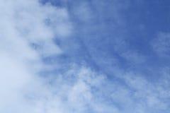 Cielo e nubi Immagini Stock