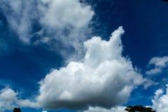 Cielo e nubi Fotografia Stock Libera da Diritti