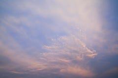 Cielo e nubi Immagine Stock