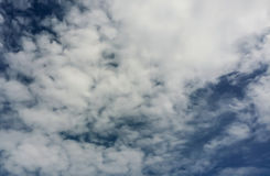 cielo e nuvola con la natura fotografie stock libere da diritti