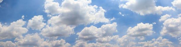 Cielo e nuvola di panorama Fotografie Stock