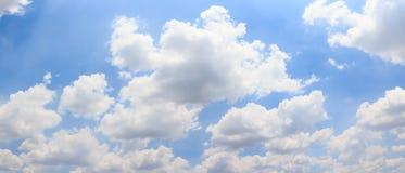 Cielo e nuvola di panorama Immagini Stock Libere da Diritti
