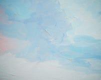 Cielo e nuvole, illustrazione Fotografia Stock Libera da Diritti