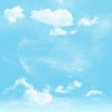 Cielo e nuvoloso immagine stock