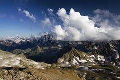 Cielo e rocce Immagine Stock