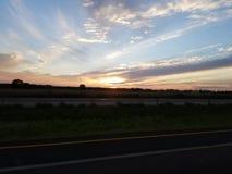 cielo e sole Immagine Stock Libera da Diritti