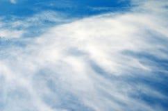 Cielo e sole con le nuvole Fotografia Stock