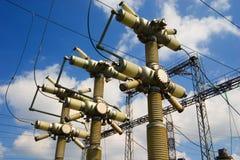 Cielo ed elettricità Immagini Stock Libere da Diritti