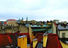 cielo en ciudad Foto de archivo