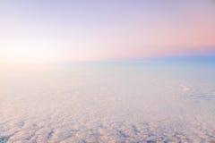 Cielo en colores pastel Imágenes de archivo libres de regalías