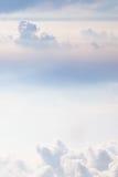 Cielo en colores pastel suave Fotos de archivo